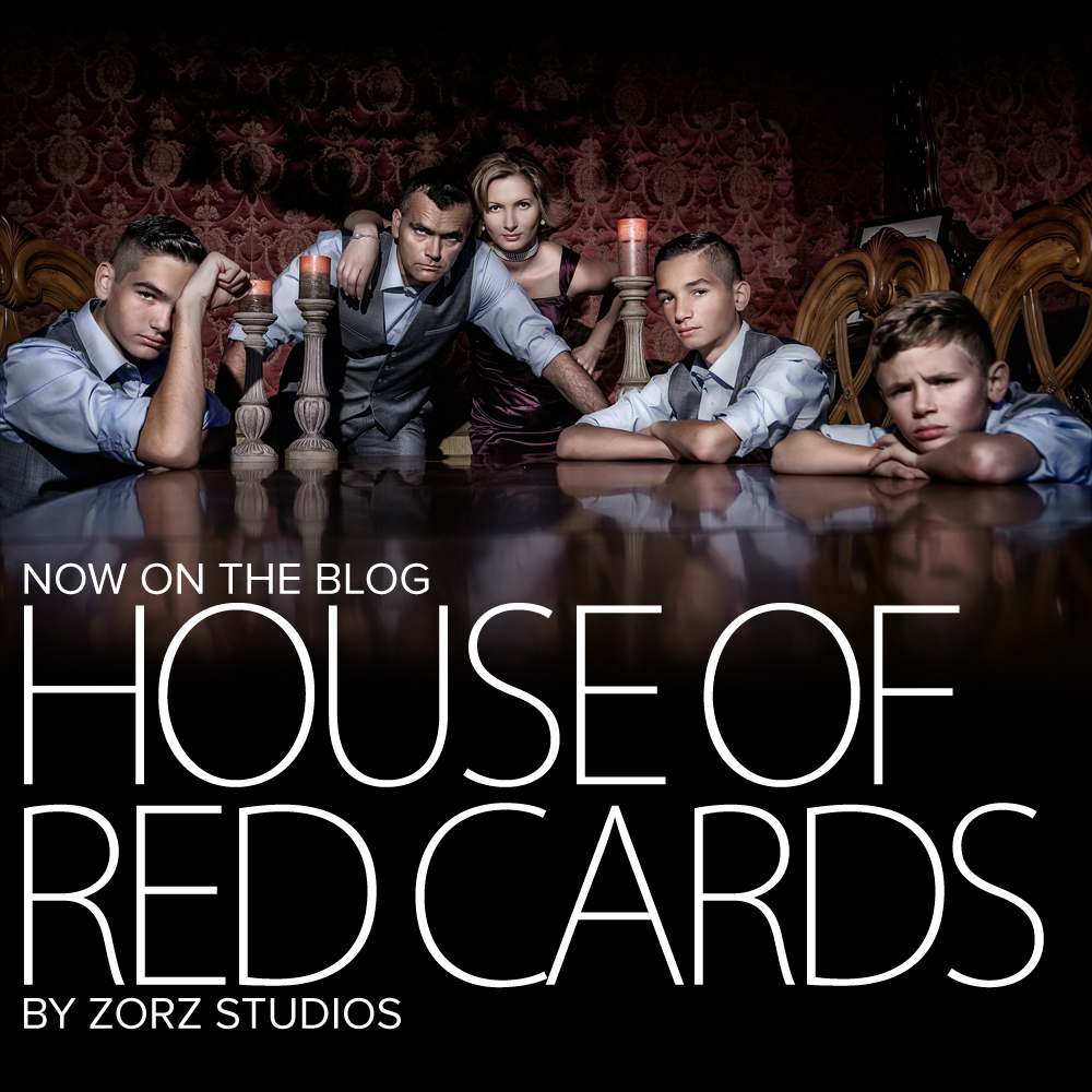House of Red Cards: Non-Traditional Family Christmas Cards (Part 1) by Zorz Studios (1)