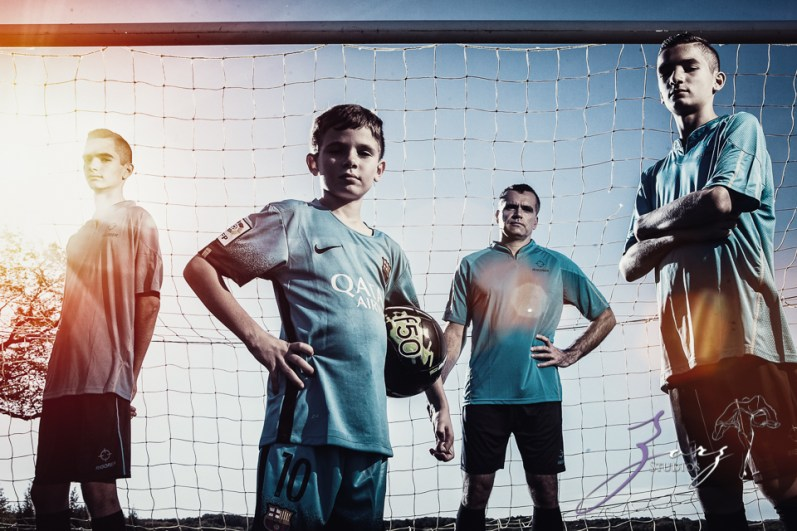 House of Red Cards: Tough Soccer Family Photoshoot by Zorz Studios (42)