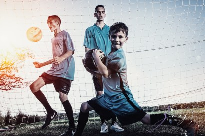 House of Red Cards: Tough Soccer Family Photoshoot by Zorz Studios (39)