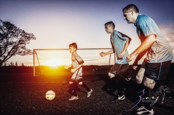 House of Red Cards: Tough Soccer Family Photoshoot by Zorz Studios (16)