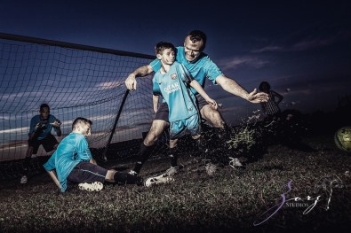 House of Red Cards: Tough Soccer Family Photoshoot by Zorz Studios (11)