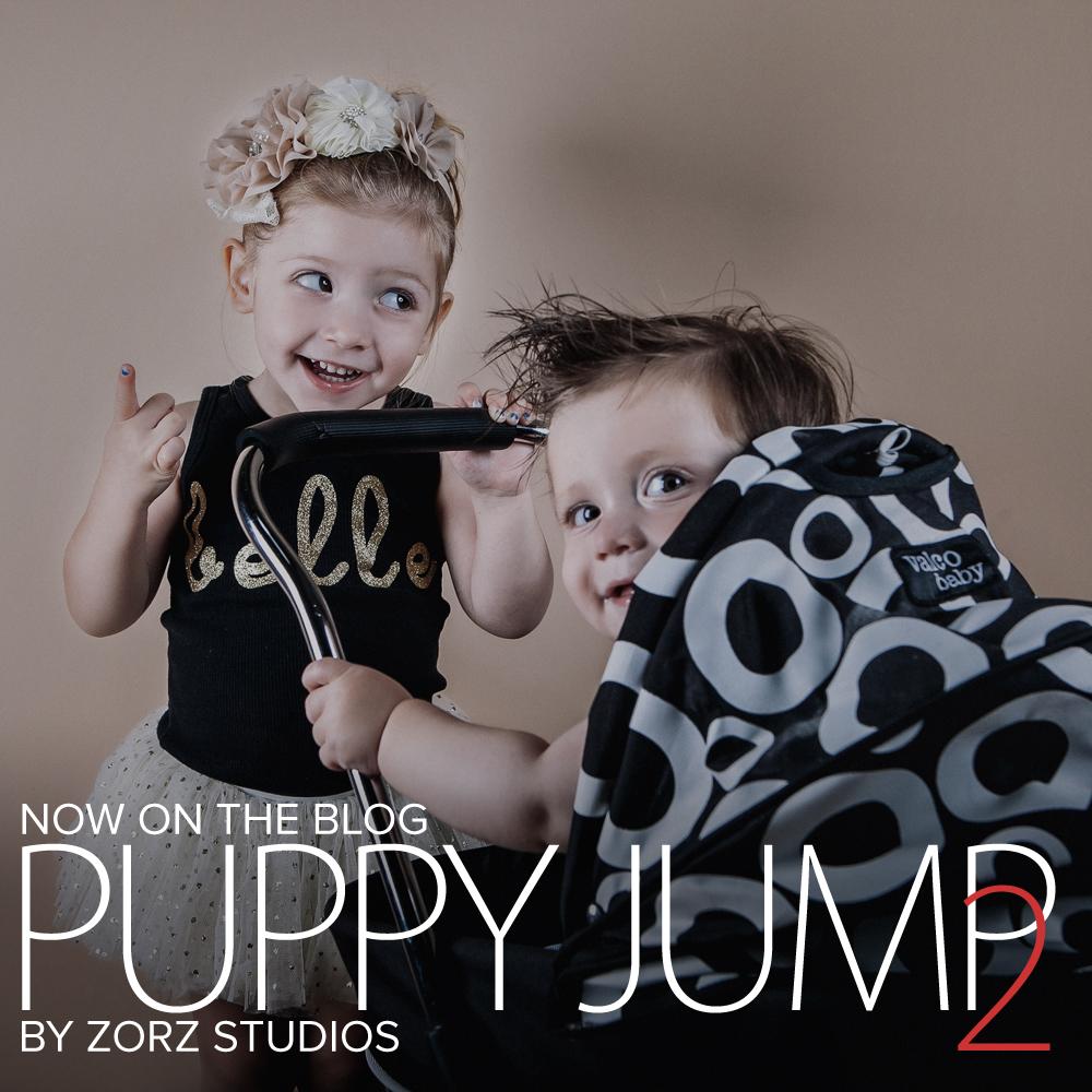 Puppy Jump 2: Mischievous Baby Photoshoot by Zorz Studios (20)