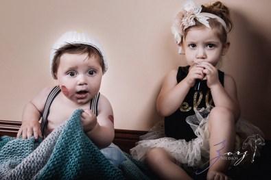 Puppy Jump 2: Mischievous Baby Photoshoot by Zorz Studios (2)