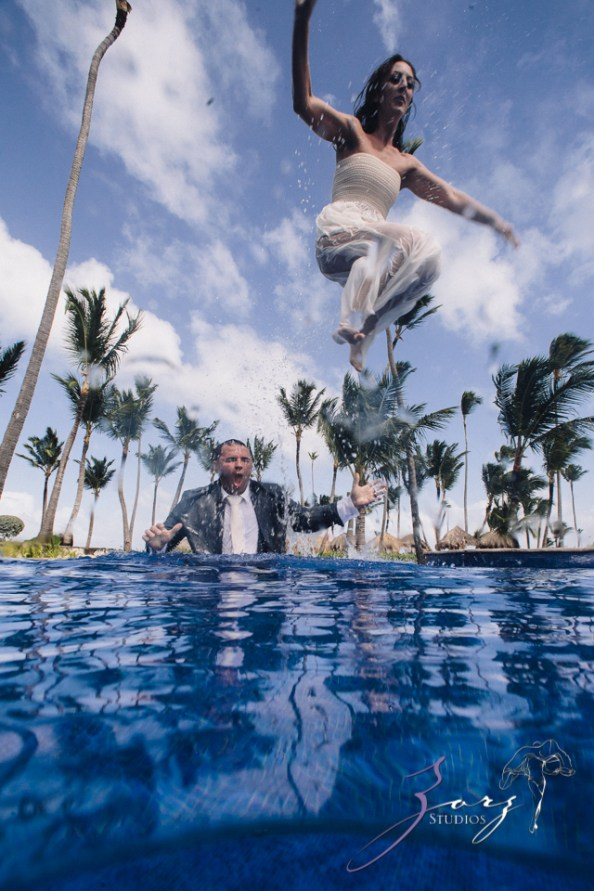 Caught in Traffic: Olessa + Joe = Punta Cana Destination Wedding by Zorz Studios (7)