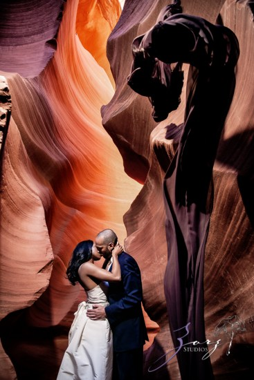 Canyon: Fashionable Engagement Session at Antelope Canyon by Zorz Studios (16)