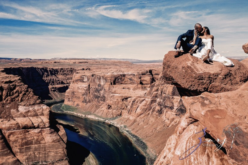 Canyon: Fashionable Engagement Session at Antelope Canyon by Zorz Studios (7)
