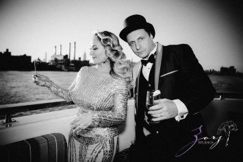Gatsby at Sea: The Great Gatsby Theme Yacht Birthday Party by Zorz Studios (107)
