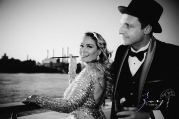 Gatsby at Sea: The Great Gatsby Theme Yacht Birthday Party by Zorz Studios (105)