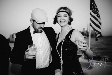 Gatsby at Sea: The Great Gatsby Theme Yacht Birthday Party by Zorz Studios (72)