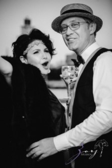 Gatsby at Sea: The Great Gatsby Theme Yacht Birthday Party by Zorz Studios (68)