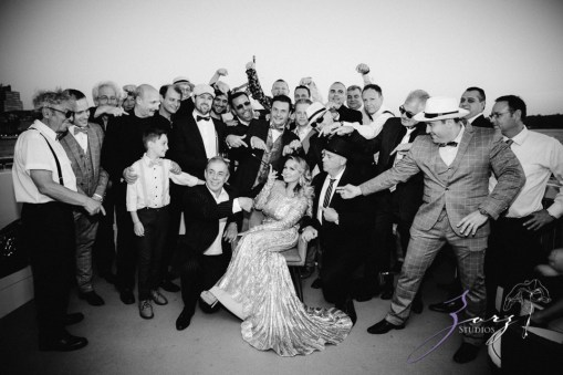 Gatsby at Sea: The Great Gatsby Theme Yacht Birthday Party by Zorz Studios (63)