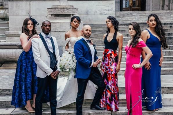 Bandana: Ana + Dana = Freaking Stylish Manhattan Wedding by Zorz Studios (58)