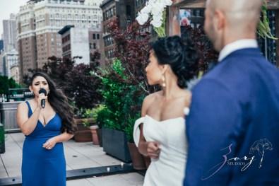 Bandana: Ana + Dana = Freaking Stylish Manhattan Wedding by Zorz Studios (45)