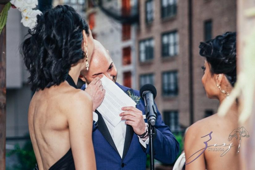 Bandana: Ana + Dana = Freaking Stylish Manhattan Wedding by Zorz Studios (41)