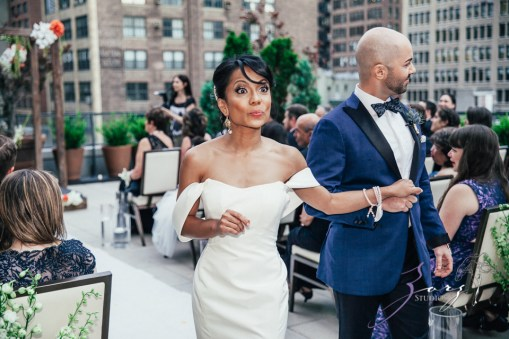 Bandana: Ana + Dana = Freaking Stylish Manhattan Wedding by Zorz Studios (39)