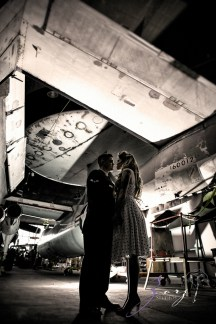 Pin-up Wings: Sam + Connor = Vintage Military Engagement Shoot by Zorz Studios (15)
