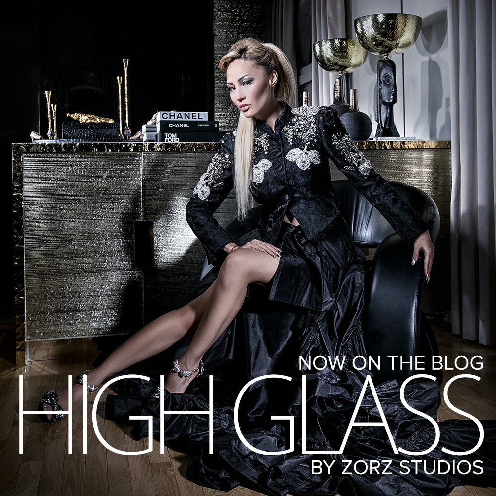 High Glass: Beauty of Lillian Gorbachincky of Cosmopolitan Glass, Squared | Zorz Studios (24)