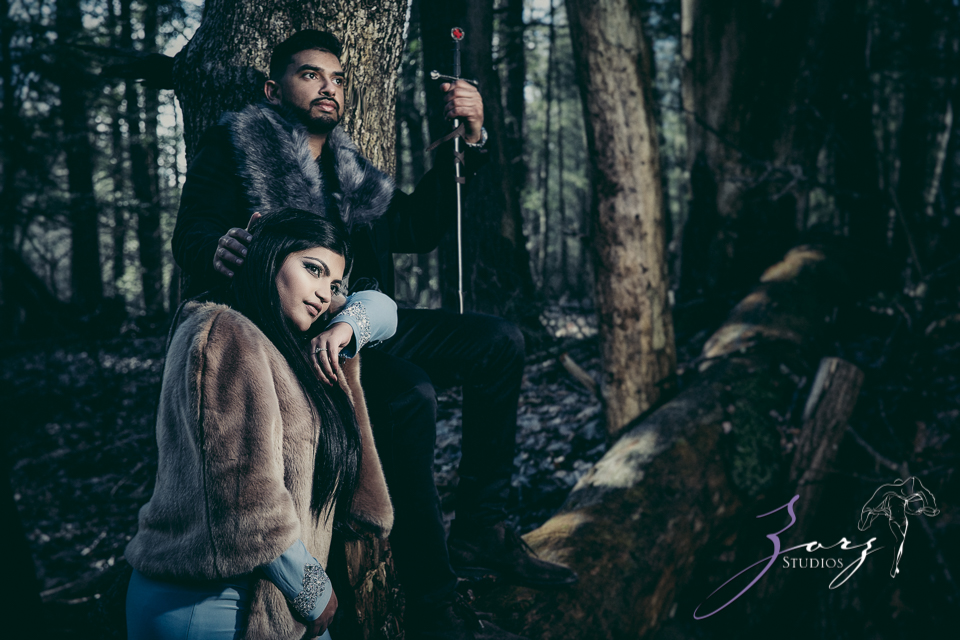 Elysium: Dreamlike Engagement Shoot at Raymondskill Falls by Zorz Studios (10)