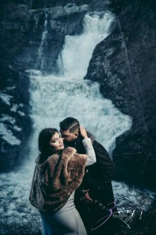 Elysium: Dreamlike Engagement Shoot at Raymondskill Falls by Zorz Studios (4)