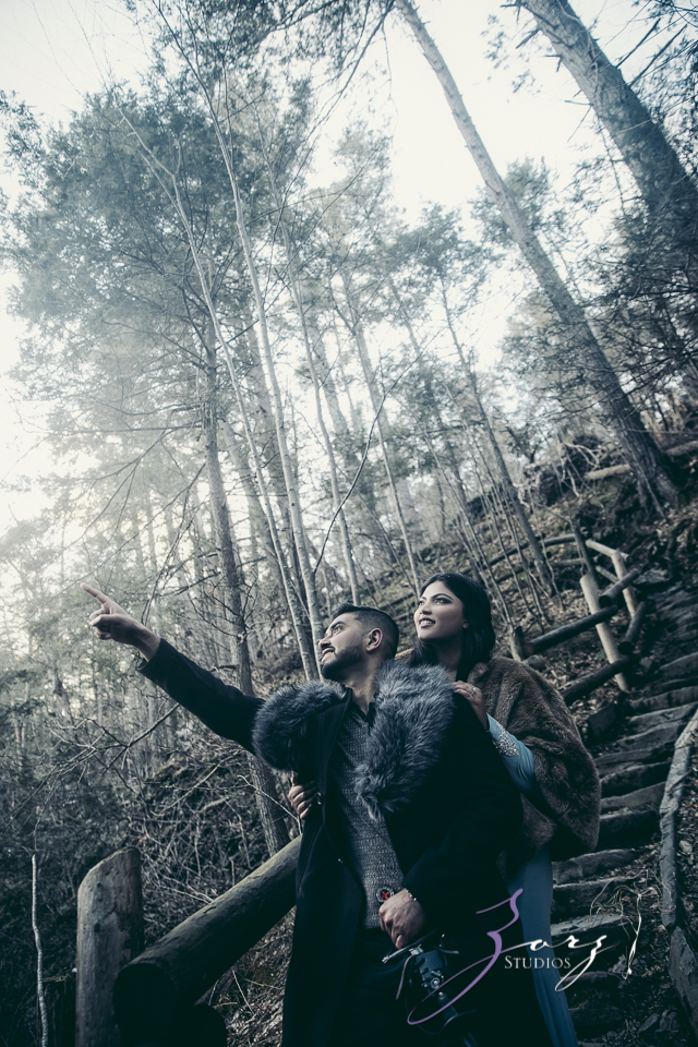 Elysium: Dreamlike Engagement Shoot at Raymondskill Falls by Zorz Studios (2)