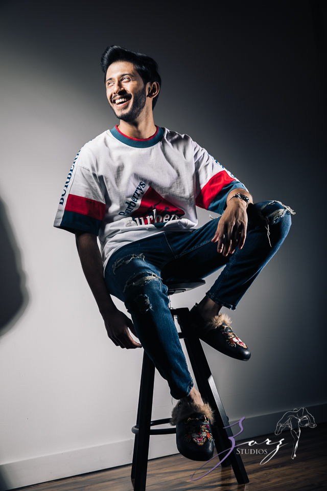 Bollyruth: High-Energy Photoshoot for Young Bollywood Actor Ruthvik Reddy Kondakindi by Zorz Studios (31)