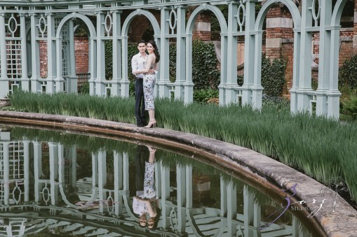 No Bounds: Ilana + Igor = Old Westbury Gardens Engagement Session by Zorz Studios (31)