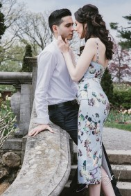 No Bounds: Ilana + Igor = Old Westbury Gardens Engagement Session by Zorz Studios (23)
