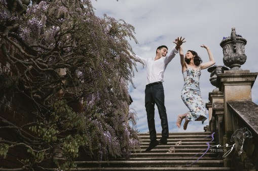 No Bounds: Ilana + Igor = Old Westbury Gardens Engagement Session by Zorz Studios (7)