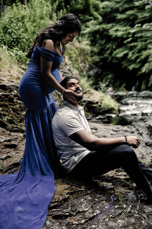 Bhaaloo: Maternity Session by Raymondskill Falls by Zorz Studios (14)
