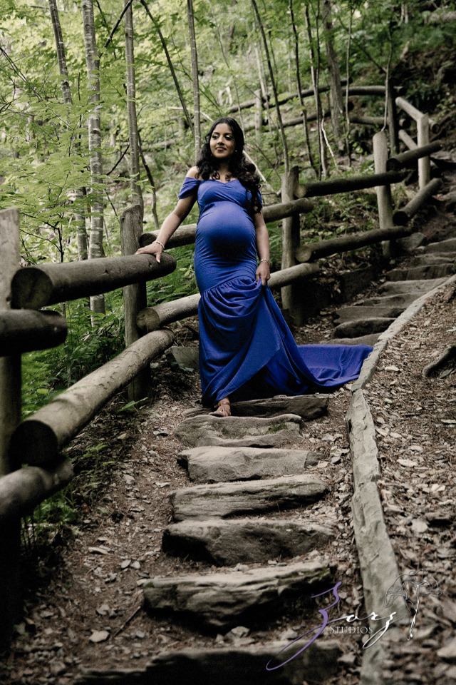 Bhaaloo: Maternity Session by Raymondskill Falls by Zorz Studios (12)