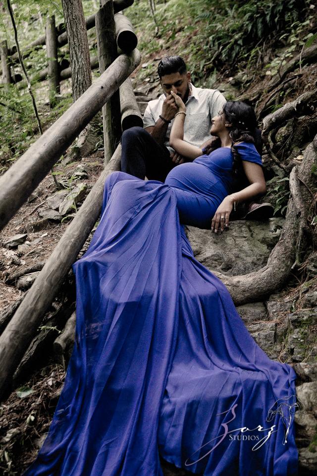 Bhaaloo: Maternity Session by Raymondskill Falls by Zorz Studios (9)
