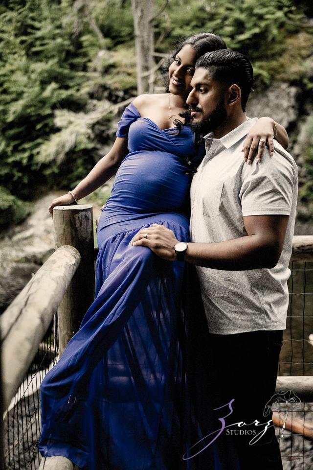 Bhaaloo: Maternity Session by Raymondskill Falls by Zorz Studios (5)