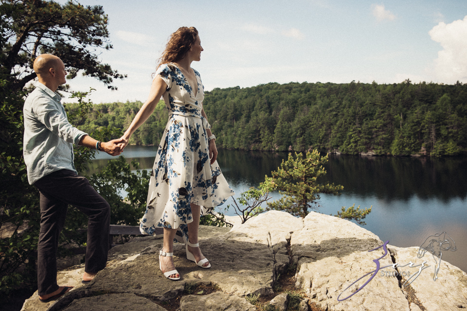 High: Lake Minnewaska Engagement by Zorz Studios (24)