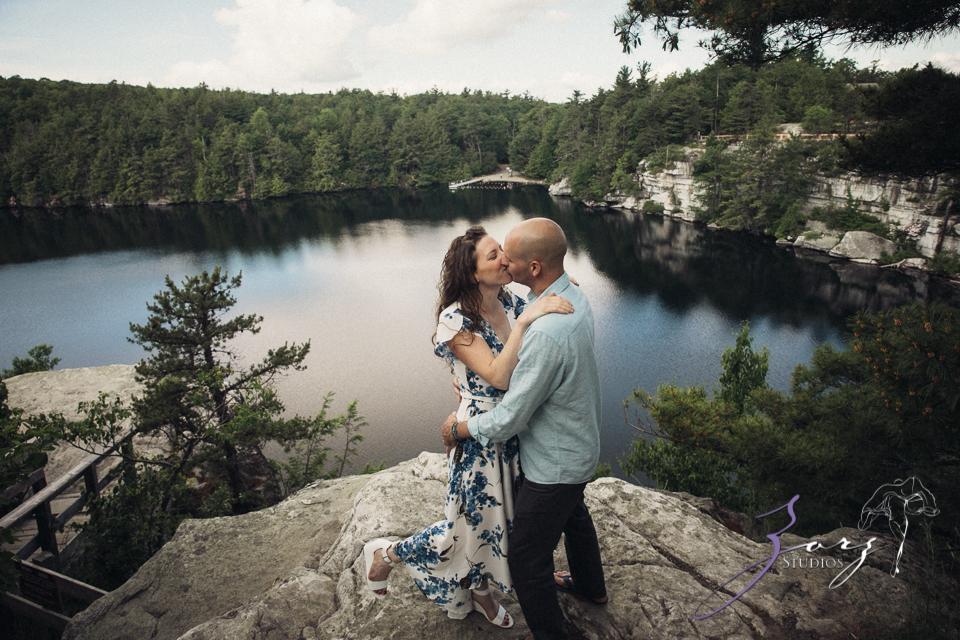 High: Lake Minnewaska Engagement by Zorz Studios (23)