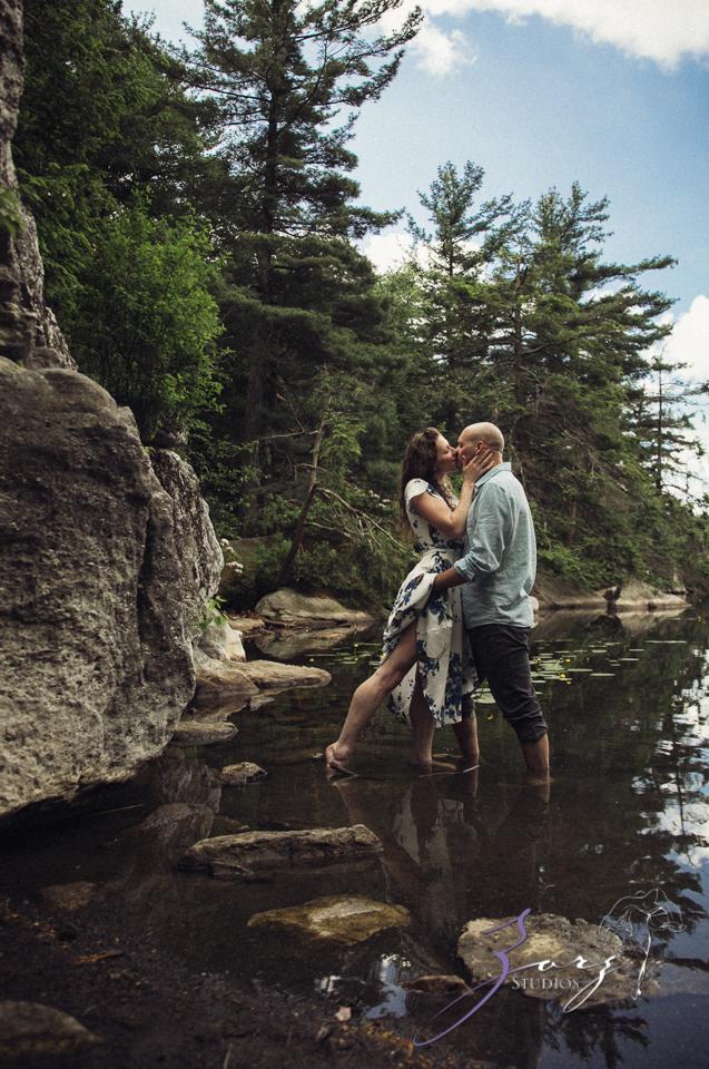 High: Lake Minnewaska Engagement by Zorz Studios (16)