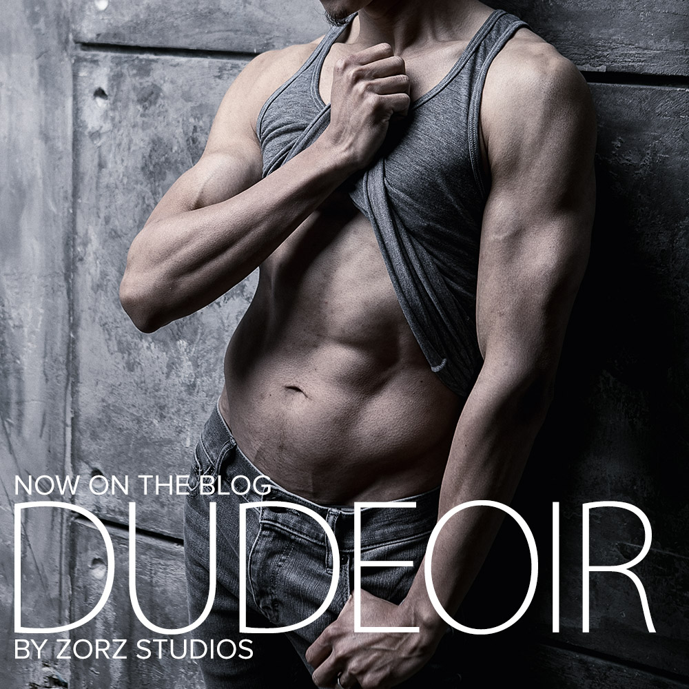Dudeoir: Straight Male Photographer's Thoughts on Male Boudoir Photography by Zorz Studios