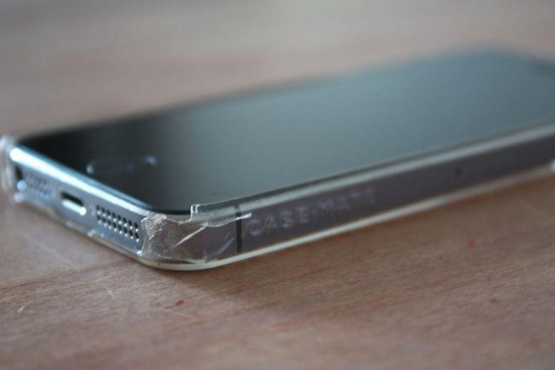 Iphone hoesje stuk