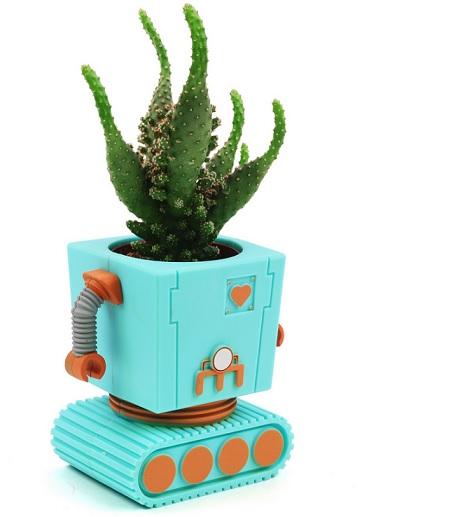 robot plantenpot