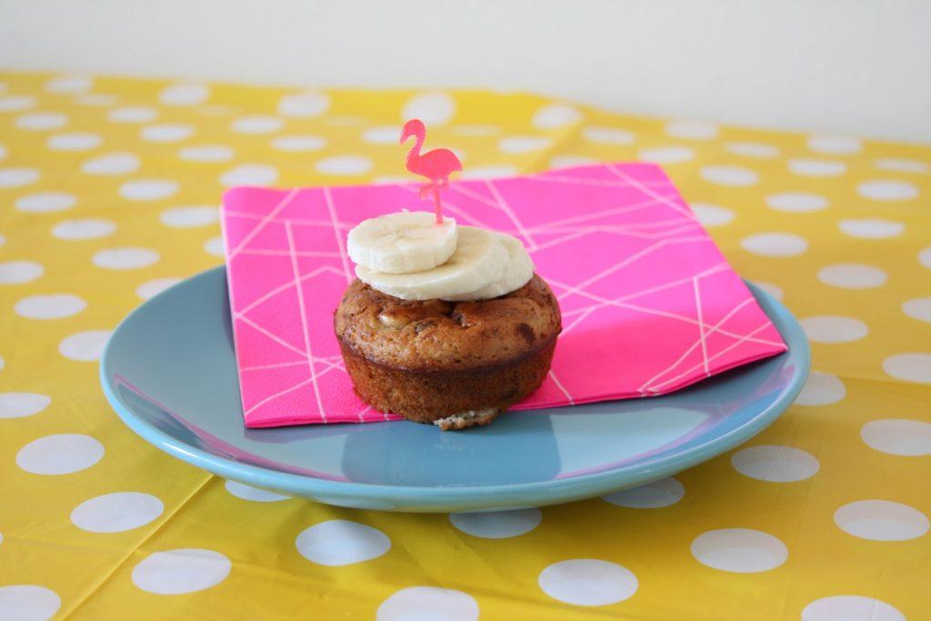 Muffins met banaan en Nutella recept
