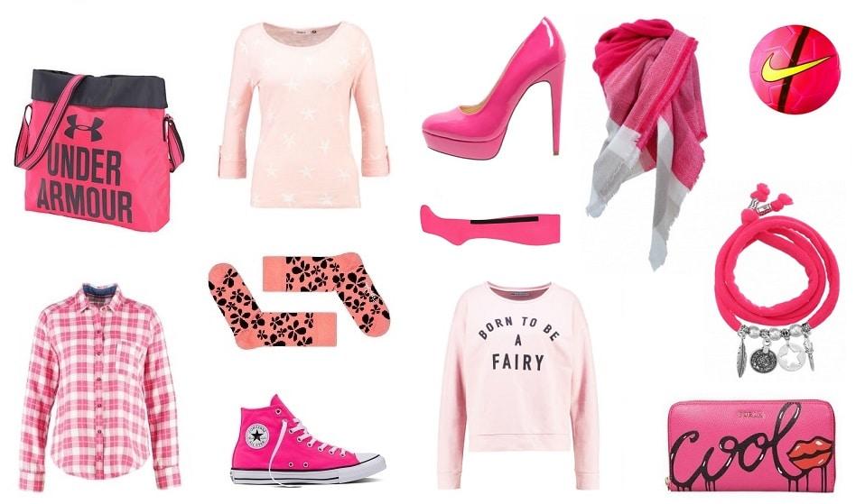 roze casual kleding
