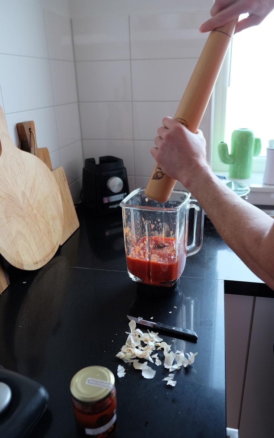 pizza tomaten saus