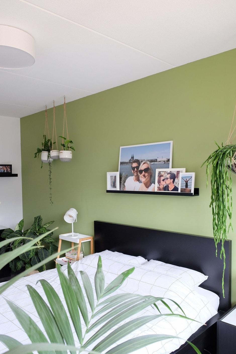 Groene slaapkamer een oase van rust  ZoSammieEnzo