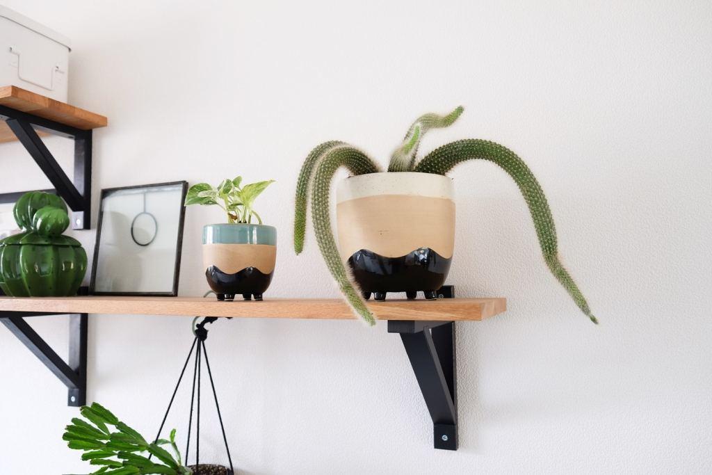 Plantenpot met pootjes