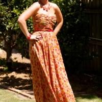 My Floral Franken-dress