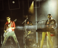 Chromeo plays at the Capitol Hill Block Party