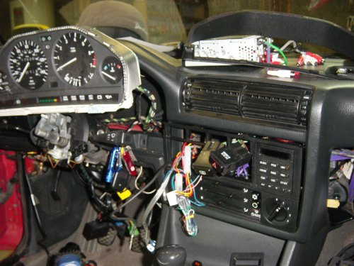 small resolution of 1991 bmw 318i e30 m42 on board computer obc retrofit by michael pincott
