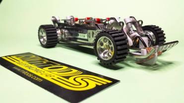chassis raid 75mm-4