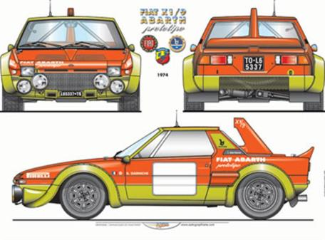 Fiat Abarth X19-5
