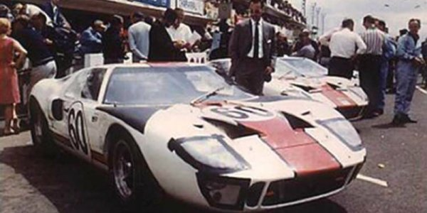 NSR Slot: Ford GT40 MKII 24h Le Mans 1969 #68