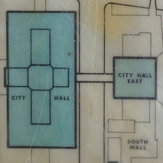 ing - map - City Hall, City Hall East